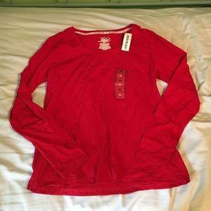 NWT joe boxer pajama shirt red XL