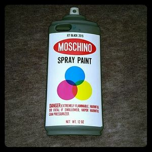 Moschino mischino couture spray sac from ro 39 s closet on for Spray paint iphone case
