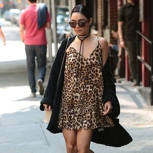 Silk Leopard Dress