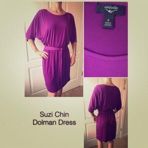 Suzi Chin Purple Dress