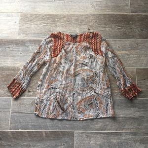 Tops - Lucky Brand Blouse Size Medium