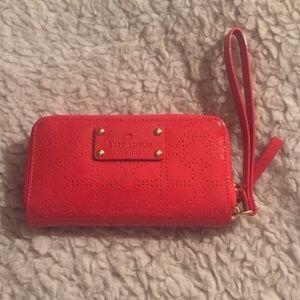 Kate Spade Metro Red Wallet