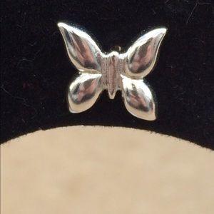 Jewelry - Sterling Silver 925 Butterfly Stud Earrings