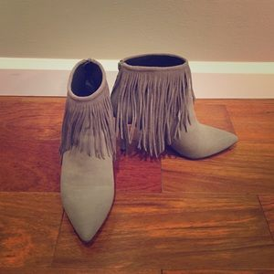 "LFL Shoes - LFL ""The Shrine"" Fringe Bootie"