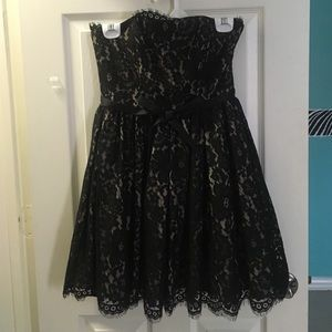 Black lace formal/cocktail dress