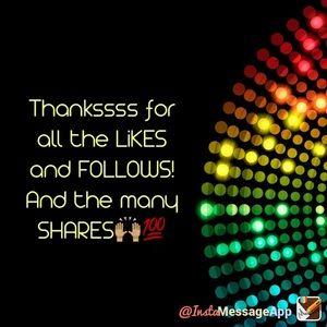 Follows, Shares and Likes!