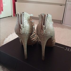 b063501d3a59 INC International Concepts Shoes | Super Cute Sparkly Silver Heels ...