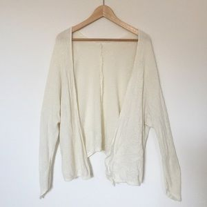 Brandy Melville cream Carolyn Cardigan