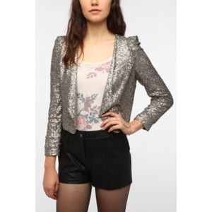 Pins & Needles Jackets & Blazers - Pins and Needles Sequin Blazer