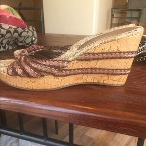Shoes - Platform sandals size 8.5