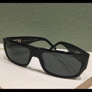 Versace black retro sunglasses 