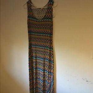 CK maxi dress