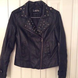 Lapis Jackets & Blazers - Leather Jacket ⚫️♥️