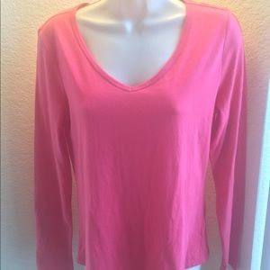 Tops - Kohl's Small petite pink long sleeve-never worn