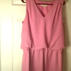 Spring Loft pink rosy dress in size 12