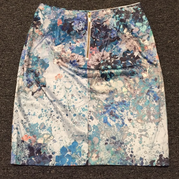 h m sale floral pencil skirt from s closet on poshmark