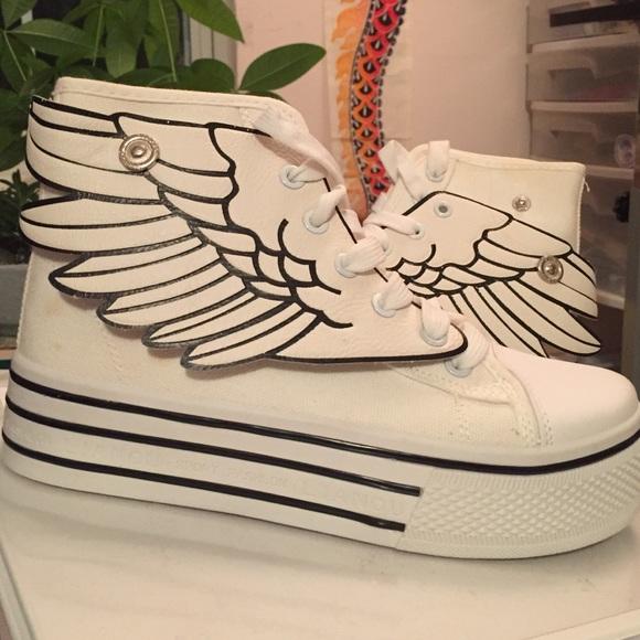 the latest 34117 e6e19 Adidas Shoes - NWOT wing sneakers Jeremy Scott dupes Kpop KAWAII