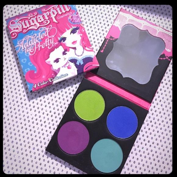 70ebe5353 Sugarpill Makeup | Cosmetics Addicted To Pretty Palette | Poshmark