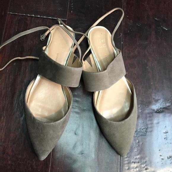 Banana Republic Shoes - ⭐️Host Pick⭐️ BR olive green flats