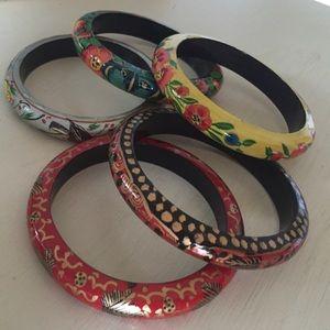 5 Pack - Stackable Bracelets