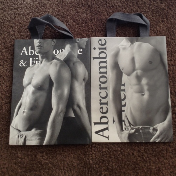 Abercrombie & Fitch - Abercrombie & Fitch Shopping Bag Bundle of 2 ...