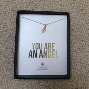 NWT Dogeared Wing Necklace