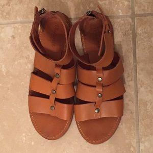Madewell Shoes - NWOT Madewell Rowan Gladiator Sandals