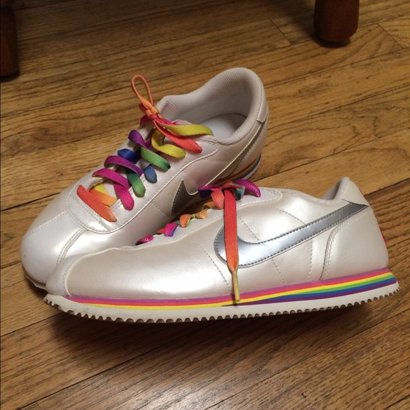 nike nike old school rainbow shoes pearl white 7 5 from. Black Bedroom Furniture Sets. Home Design Ideas