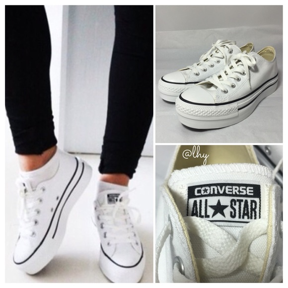 e2fcf3cba68 Converse Shoes - 🆕CONVERSE ALL STAR LO PLATFORM SNEAKERS – SZ8