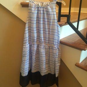 Old Navy Striped Dress Blue/White