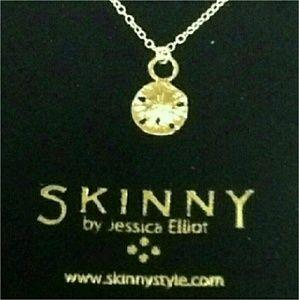 Jessica Elliot Jewelry - DESIGNER Jessica Elliot GOLD SAND DOLLAR NECKLACE