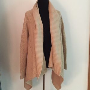Jones New York Sweaters - Jones of NY Tan Cardigan