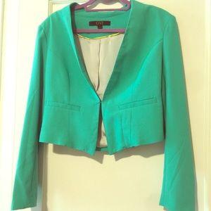 Green blazer!