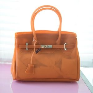 white hermes birkin - 56% off Boutique Handbags - Orange Jelly Birkin Bag from Adams\u0026#39;s ...