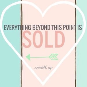 Thank you for shopping in my closet! ❤️❤️❤️