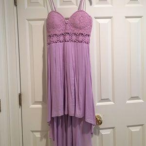 Millau Dresses & Skirts - LF High-low purple flower dress. Size M