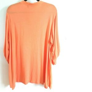 1787d3bf0a6 Westbound Tops - Westbound 2X Plus Size Orange Top