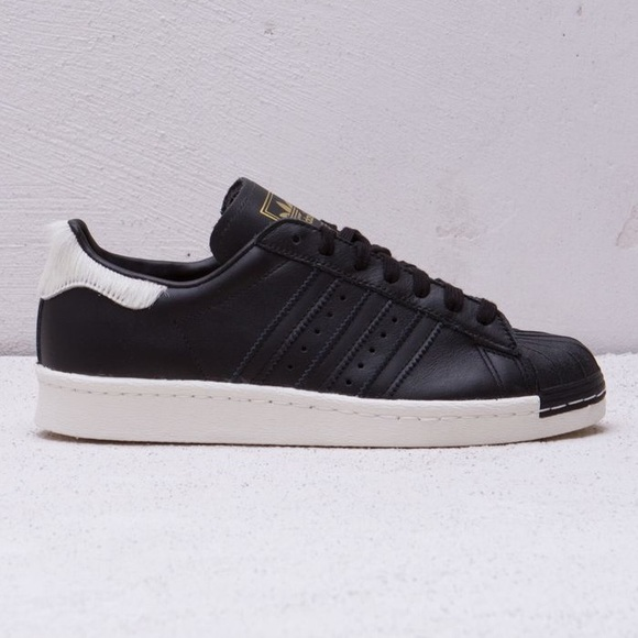 9c1575aa31dd65 Adidas Shoes - ADIDAS brand new black and white with fur backing