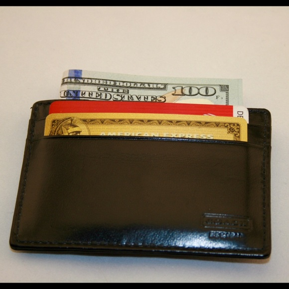premium selection b84fa 9a47c Coach money clip card case for men