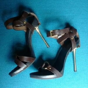 a0633403b Gucci Shoes | New Equestrian Sandals Gold Hardware | Poshmark