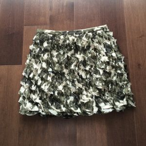 J.Crew Silk Mini Skirt