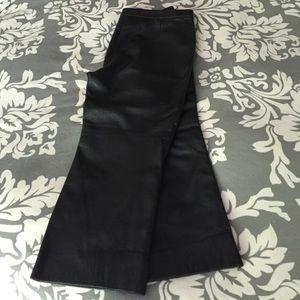 BCBGMaxAzria Pants - BCBGMaxazria Cropped Leather Pants
