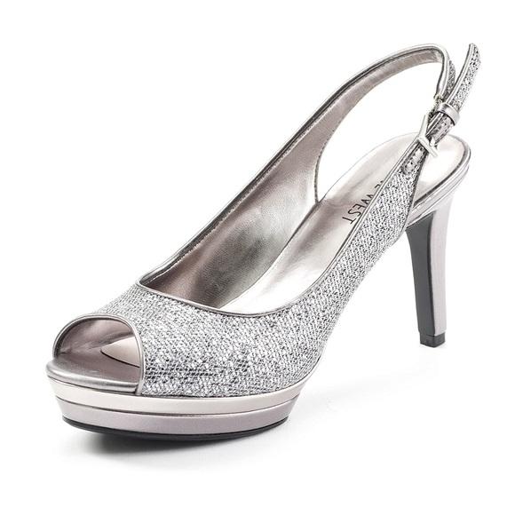 e0a6e928c9e6 ... silver peep toe sing back heel PROM. M 5738d1f6981829686506dfe2