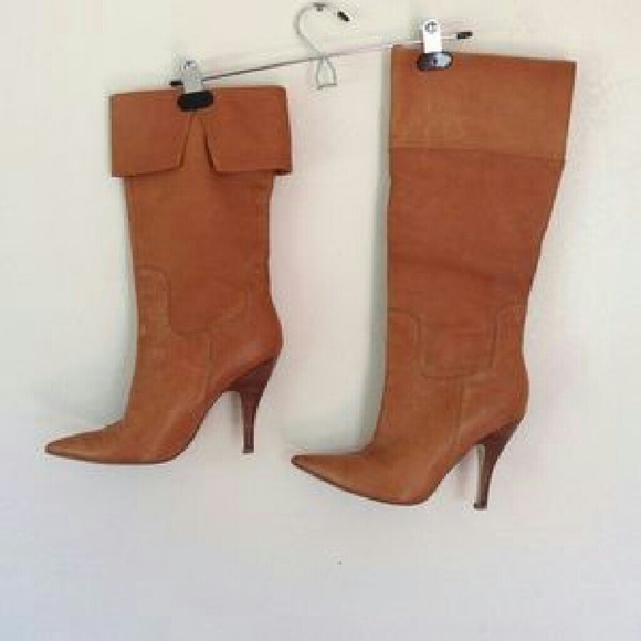 Guess By Marciano Camel Troubadour Boots