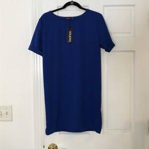 New with tags! Dark blue shift dress