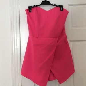 Never been worn hot pink skort romper