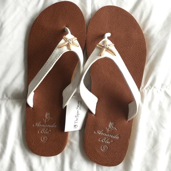 a7234062ba1e5 NWT Amanda Blu Sandals