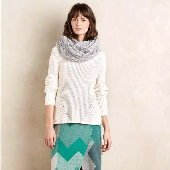 Anthropologie Sweaters - Anthropologie Moth High Low sweater 7bd4c13ae