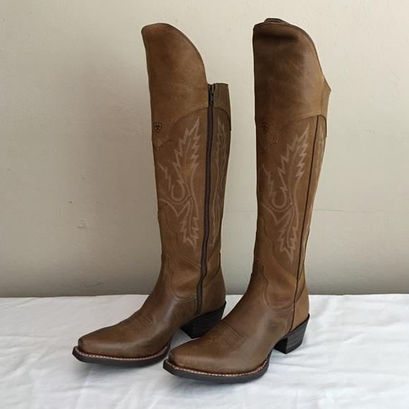 3827ca6de0f Ariat size 8 women's over the knee western boot
