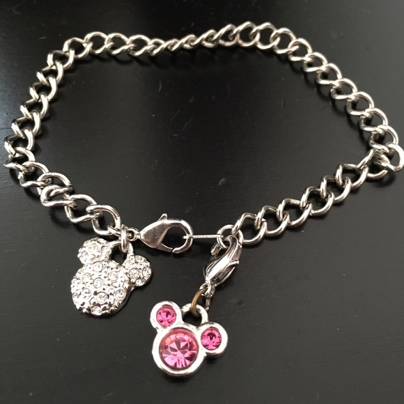 disney mickey mouse charm bracelet from mallory s closet